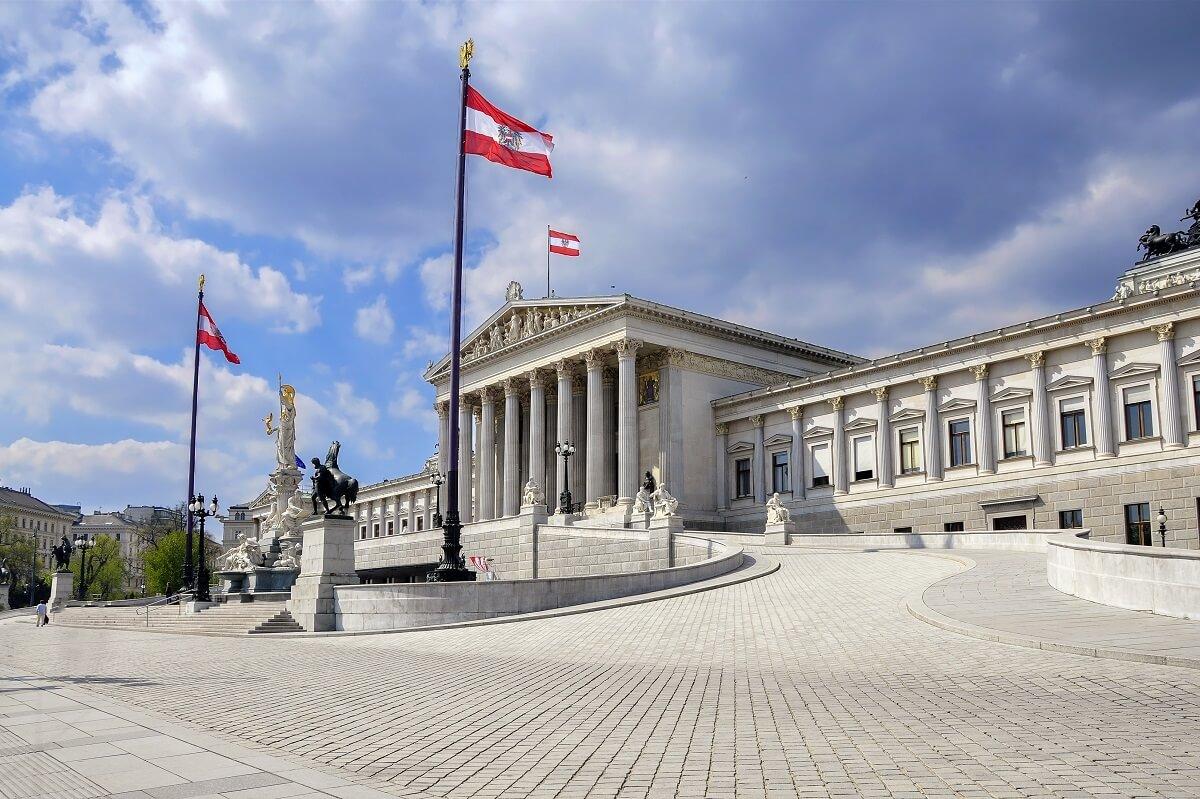 budova rakúskeho parlamentu